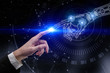 Leinwandbild Motiv Artificial intelligence and technology concept