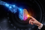 Artificial intelligence and future concept - 214469252