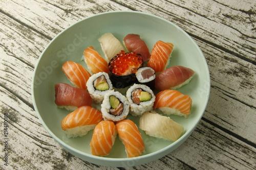 Foto Spatwand Sushi bar Sushi