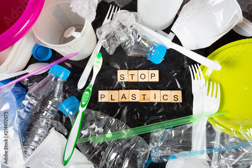 Plastics for recycling © 135pixels