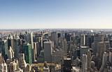 Blick vom Empire State Building Richtung Südosten, links East River, Manhattan, New York City, New York, Vereinigte Staaten von Amerika, USA - 214493073