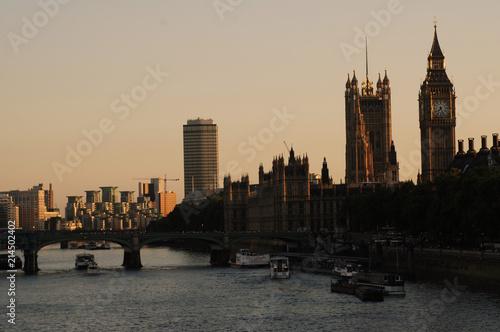 Plexiglas London Westminster Abby, Big Ben, London