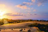 Tuscany, Italy. summer countryside Landscape