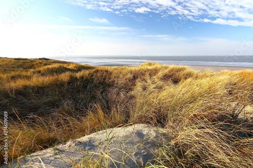 Aluminium Noordzee Küstenlandschaft Nordsee, Insel Langeoog