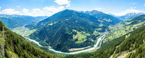 Leinwandbild Motiv kaunertal valley - austria