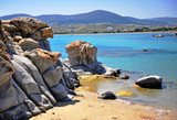 Scenic view of Kolymbithres beach near Naoussa town - 214622280