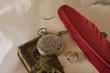 Bodegón con objetos de otro tiempo para coleccionar.