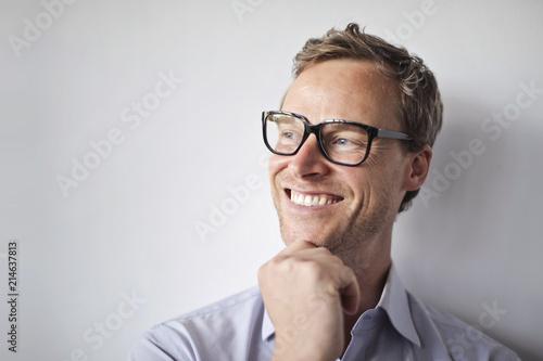 Foto Murales Portrait of a businessman