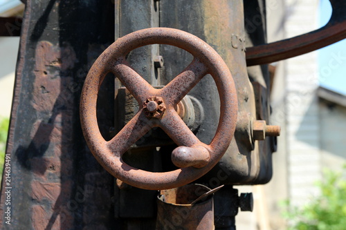 Foto Spatwand Spoorlijn OBJET FERROVIAIRE MÉTALLIQUE