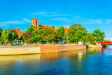Riverside of Odra, Wroclaw, Poland