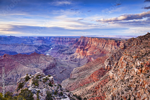 Foto Spatwand Arizona Grand Canyon Sunset