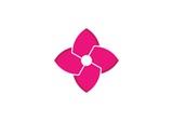 flowers design logo Template