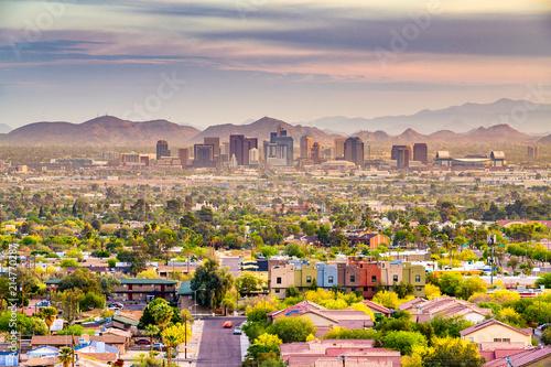 Foto Spatwand Arizona Phoenix, Arizona, USA