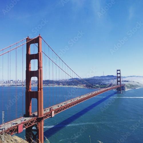 Canvas San Francisco Golden Gate Bridge