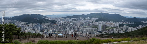 Panoramic view of the city - 214879864