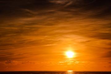 Beautiful Colored Sunset © underworld