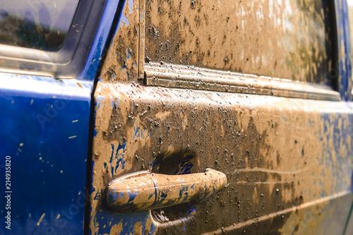 Foto Murales dirt on the car