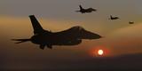 avion de chasse - guerre - avion - escadrille - F16 -combat aérien - militaire - opération - américain - 214954228