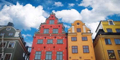 Foto Spatwand Stockholm Stockholm, Sweden cityscape