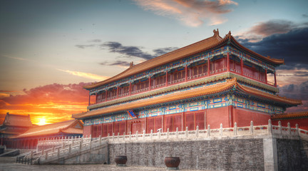 Forbidden City is the largest palace complex in the world. © Aliaksei