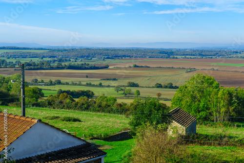 Plexiglas Pool Countryside in Cote dOr, Burgundy