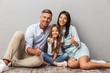 Quadro Portrait of a happy family