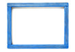 blue wood frame - 215057871