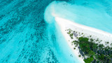 Amazing bird eyes view in Maldives - 215058287