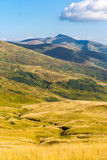 Carpathian mountain valley - 215059256