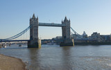 View of the London Bridge on the River Thames