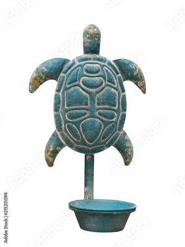 Foto Spatwand Schildpad tortue déco
