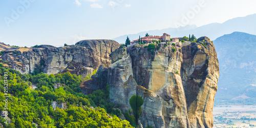 Monastery Holy Trinity in morning , Meteora , Greece © Aleh Varanishcha