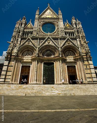 Canvas Toscane Siena Cathedrale 02