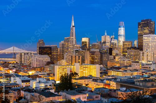 Canvas San Francisco San Francisco downtown skyline