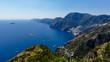 Quadro View of Amalfi Coast with Positano in the Distance