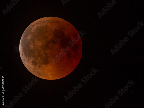 Total Lunar Eclipse - Bloody Moon - 215307850