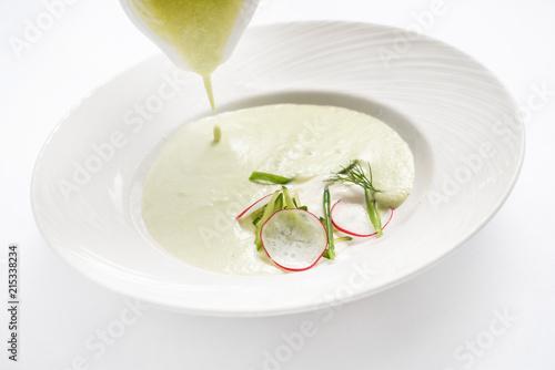 Foto Murales summer cold soup