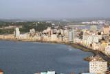Golfo dell'Avana con vista panoramica della città e il suo lungomare Malecon