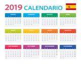 Calendar 2019 - Spanish Version - 215362018