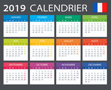 Calendar 2019 - French version - 215363624