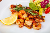 Delicious roated shrimps - 215382444