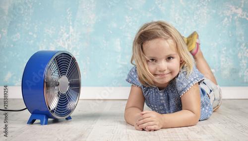 Foto Murales Abkühlung bei der Hitzewelle
