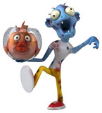 Fun zombie - 3D Illustration - 215402481