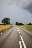 Country road in Sweden - 215422678
