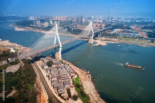 Wall mural Chongqing Masangxi bridge