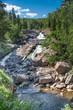 Waterfall at the Beaver River Minnesota