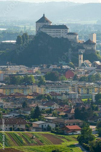 Foto Spatwand Groen blauw Kufstein Festung