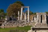 Ruins of the ancient sanctuary Lagina, Turkey