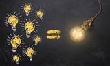 viele kleine Ideen führen zur großen Innovation