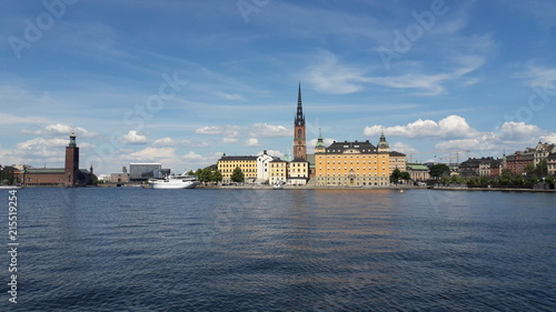 Foto Spatwand Stockholm Stockholm